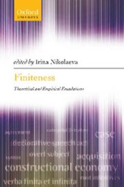 Nikolaeva, Irina - Finiteness : Theoretical and Empirical Foundations, ebook