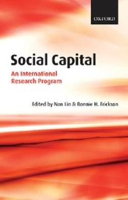 , Nan Lin - Social Capital : An International Research Program, ebook