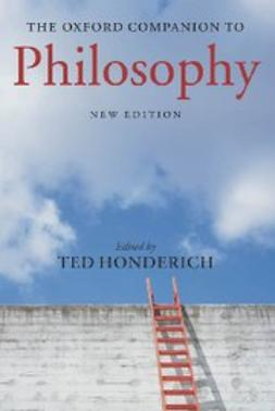Honderich, Ted - The Oxford Companion to Philosophy, e-bok