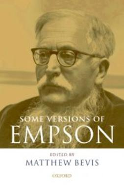 Bevis, Matthew - Some Versions of Empson, ebook