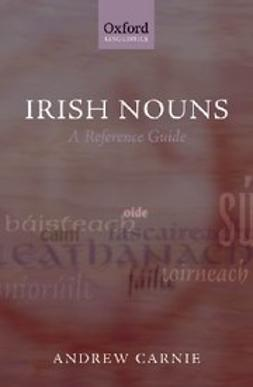 Carnie, Andrew - Irish Nouns : A Reference Guide, ebook