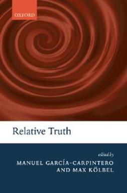 García-Carpintero, Manuel - Relative Truth, ebook