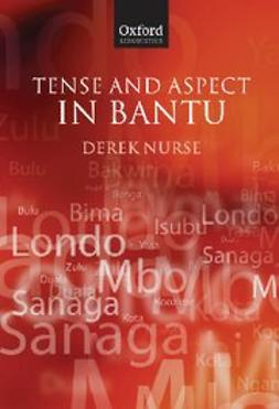 Nurse, Derek - Tense and Aspect in Bantu, ebook