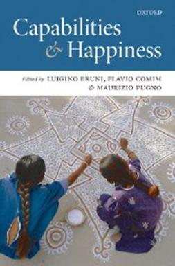 , Flavio Comim - Capabilities and Happiness, ebook