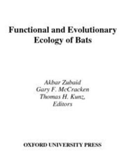 Biology - Functional and Evolutionary Ecology of Bats, ebook