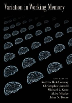 Conway, Andrew R. A. - Variation in Working Memory, ebook