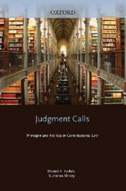 Judgment Calls : Principle and Politics in Constitutional Law
