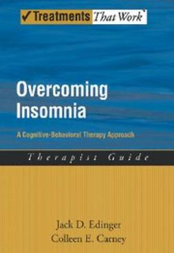 , Carney, Colleen - Overcoming Insomnia A Cognitive-Behavioral Therapy Approach Therapist Guide, ebook