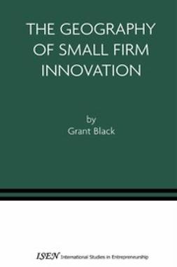 Black, Grant - The Geography of Small Firm Innovation, ebook