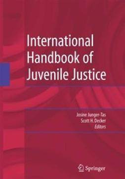 Junger-Tas, Josine - International Handbook of Juvenile Justice, ebook