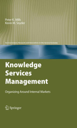 Mills, Peter K. - Knowledge Services Management, ebook