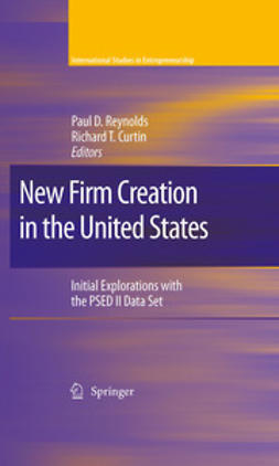 Curtin, Richard T. - New Firm Creation in the United States, ebook