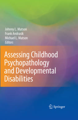 Andrasik, Frank - Assessing Childhood Psychopathology and Developmental Disabilities, ebook