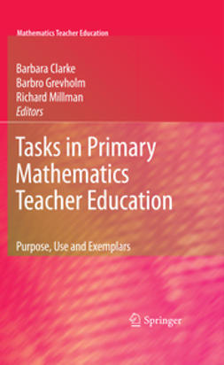 Clarke, Barbara - Tasks in Primary Mathematics Teacher Education, ebook