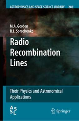 - Radio Recombination Lines, ebook