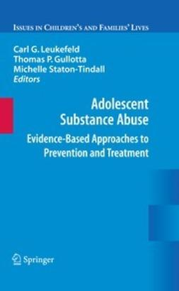 Leukefeld, Carl - Adolescent Substance Abuse, ebook