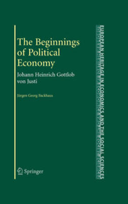 Backhaus, Jürgen Georg - The Beginnings of Political Economy, ebook