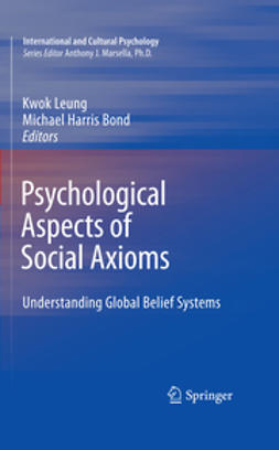 Bond, Michael Harris - Psychological Aspects of Social Axioms, ebook