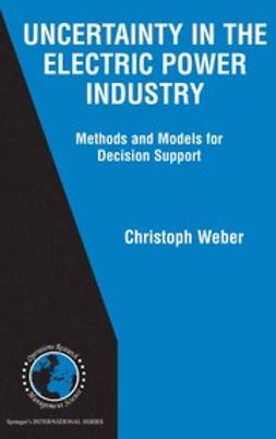 Weber, Christoph - Uncertainty in the Electric Power Industry, e-kirja