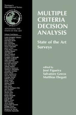 Ehrogott, Matthias - Multiple Criteria Decision Analysis: State of the Art Surveys, ebook