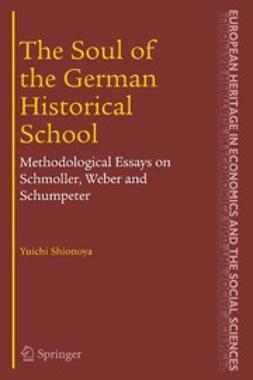 Shionoya, Yuichi - The Soul of the German Historical School, ebook