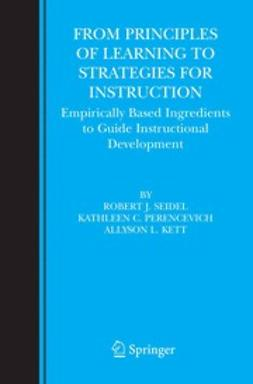 Kett, Allyson L. - From Principles of Learning to Strategies for Instruction, ebook