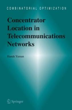 Yaman, Hande - Concentrator Location in Telecommunications Networks, ebook