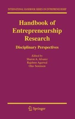 Agarwal, Rajshree - Handbook of Entrepreneurship Research, e-bok