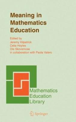 Hoyles, Celia - Meaning in Mathematics Education, ebook