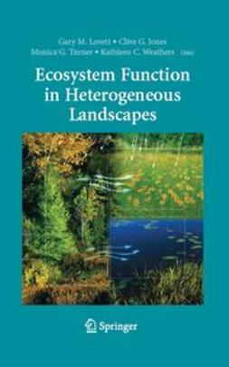 Jones, Clive G. - Ecosystem Function in Heterogeneous Landscapes, e-bok