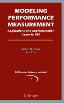Cook, Wade D. - Modeling Performance Measurement, ebook