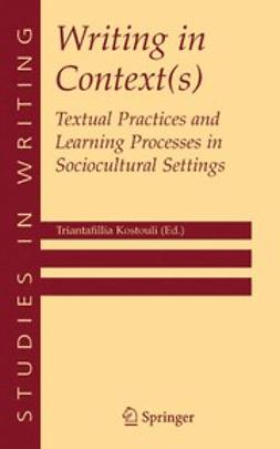 Kostouli, Triantafillia - Writing in Context(s), ebook