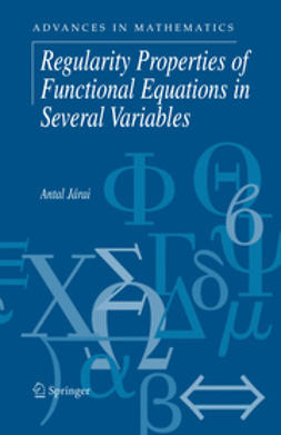 Járai, Antal - Regularity Properties of Functional Equations in Several Variables, e-kirja