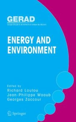 Loulou, Richard - Energy and Environment, ebook