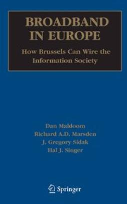 Maldoom, Dan - Broadband in Europe: How Brussels Can Wire the Information Society, ebook