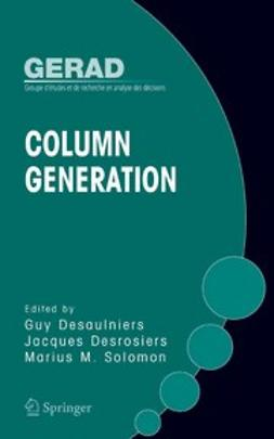 Desaulniers, Guy - Column Generation, ebook