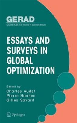 Audet, Charles - Essays and Surveys in Global Optimization, ebook