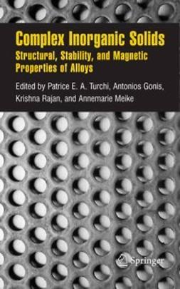 Turchi, Patrice E. A. - Complex Inorganic Solids, ebook