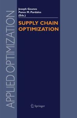 Geunes, Joseph - Supply Chain Optimization, ebook