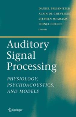 Cheveigné, Alain - Auditory Signal Processing, ebook