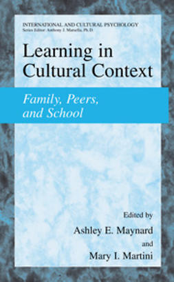Martini, Mary I. - Learning in Cultural Context, ebook