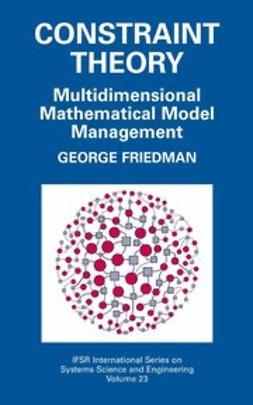 Friedman, George J. - Constraint Theory, ebook