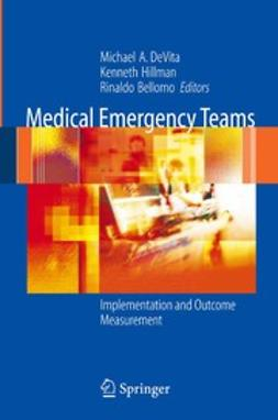 Bellomo, Rinaldo - Medical Emergency Teams, ebook