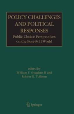 Shughart, William F. - Policy Challenges and Political Responses, ebook