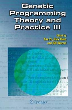 Riolo, Rick - Genetic Programming Theory and Practice III, e-bok
