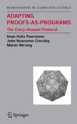 Crossley, John Newsome - Adapting Proofs-as-Programs, ebook