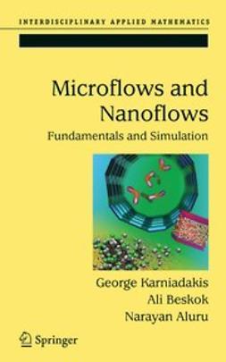 Aluru, Narayan - Microflows and Nanoflows, ebook