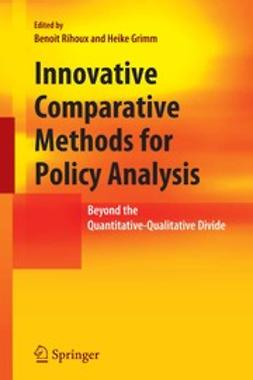 Grimm, Heike - Innovative Comparative Methods for Policy Analysis, ebook