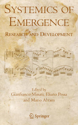 Abram, Mario - Systemics of Emergence: Research and Development, ebook