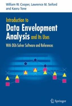 Cooper, William W. - Introduction to Data Envelopment Analysis and Its Uses, e-kirja